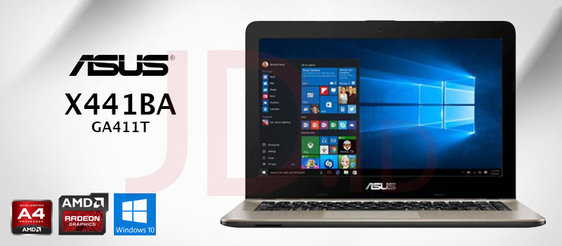 Jual Asus Vivobook X441ba Ga411t 14 Hd Amd A4 9125 4gb 500gb Amd Radeon R3 Win 10 Brown Black Jd Id